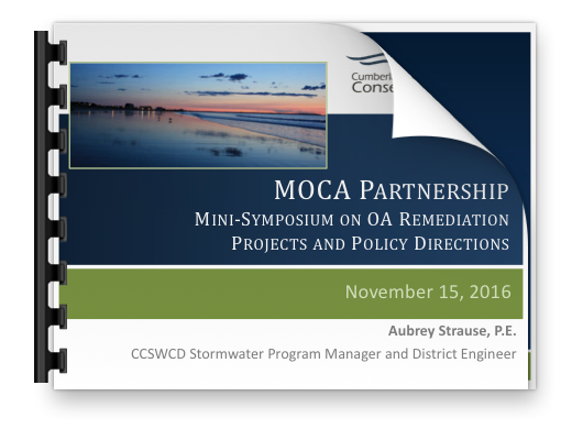 Strause presentation on MOCA Partnership Mini-Symposium on OA Remediation